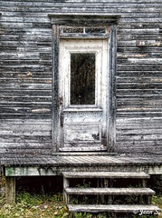 ... (Jean S..) Tags: house building stairs door wood rural old ancient village