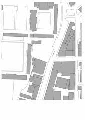 The Site (showing existing office building demolished)