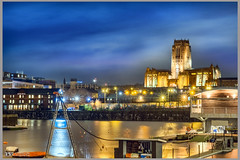Liverpool Anglican Cathedral (Bob Edwards Photography - Picture Liverpool) Tags: anglican cathedral night light pictureliverpool building architecture bobedwardsphotography merseyside church bishop worship churchofengland stjamesmount