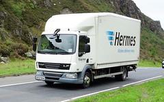 Hermes DAF LF MX62 BXM (sab89) Tags: hgv trucks truck lorry lorries hermes daf lf mx62 bxm delivery vehicle