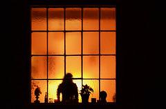 window-at-night (elmar theurer) Tags: window fenster nacht night atmosphäre atmosphere stimmung mood silhouette schattenriss