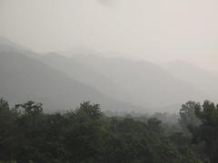 Margalla Hills in the rain, Islamabad, Pakistan