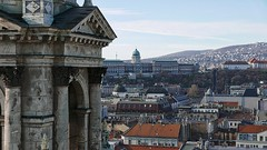 Partial View of Buda Castle with Funicular (hansntareen) Tags: funicular budacastle budapest ungarn hungary 2018