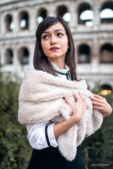 (Lucas sousseing) Tags: girl glamour mode mood model italy nikon light colors city europe beautiful personnage beauty portrait