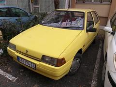 1996 Yugo Florida 1.3 (FromKG) Tags: yugo florida 13 zastava yellow car kragujevac serbia 2019