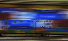 Ridin the Rails (beelzebub2011) Tags: canada britishcolumbia vancouver multipleexposure icm intentionalcameramovement abstract trains
