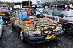 Start Carbage Run winter 2019 - Kopenhagen (FaceMePLS) Tags: kopenhagen copenhagen denemarken denmark scandinavië facemepls nikond5500 rally car voiture pkw wagen voertuig 1992volvo850gltau9 fdld13 carbageteam5493 creatiefmetkurk