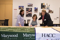 HACC-1-2 (HACC, Central Pennsylvania's Community College.) Tags: respiratory therapist respiratorytherapist articulation agreement marywooduniversity health career
