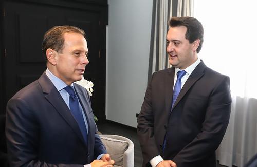 Almoço com o Governador de São Paulo, João Dória