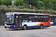 Stagecoach Cymru 37467 YX18KUW (Will Swain) Tags: pontypridd 11th august 2018 bus buses transport travel uk britain vehicle vehicles county country cymru wales south valleys stagecoach 37467 yx18kuw