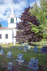 Tory Hill Meetinghouse - Church & Cemetery - Buxton ME US (Adventure George) Tags: acdseephotostudio americanperiodorstyle americanhistory architecture august backroad cemetery church churchandsociety churchbuilding culturalartifacts cultureandsociety grave gravemarker historicamericanbuilding maine newengland nikond750 northamericanperiodorstyle photogeorge photoshoot religion religionandculture rural rurallife ruralliving ruralroad ruralscenes summer unitedstatesofamerica us usa buxton toryhillcemetery southbuxtoncemetery york county firstcongregationalchurchofbuxton