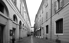 Pistocchi street (Alfredo Liverani) Tags: canong5x canon g5x pointandshoot point shoot ps flickrdigital flickr digital camera cameras crazytuesday ct crazy tuesday 7dwfct blackandwhite black white enblancoynegro blanco negro europa europe italia italy italien italie emiliaromagna romagna faenza faventia faience faenza2019 oneaday photoaday pictureaday project365 project project2019 2019pad 0782019 project365078 project365031919 project36519mar19 thursdaymonochrome thursday monochrome tm 7dwftm