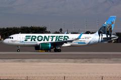 Frontier Airlines | Airbus A320-200N | N312FR | Las Vegas McCarran (Dennis HKG) Tags: aircraft airplane airport plane planespotting canon 7d 100400 lasvegas mccarran klas las frontier frontierairlines fft f9 airbus a320 airbusa320 a320neo airbusa320neo a20n sharklets n312fr