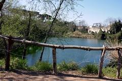 il lago che combatte (fotomie2009) Tags: roma 2019 lago ex snia lazio italy italia water acqua lake rome pictureandmusic sightsound fence ringhiera