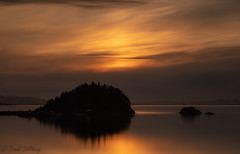 Billettholmen (Trond Sollihaug) Tags: bilettholmen islet island trondheimsfjord trøndelag trondelag stjørdal norway seaside sunset longexposure nisi nisifilters nd