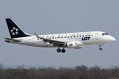 SP-LDK (Andras Regos) Tags: aviation aircraft plane fly airport bud lhbp spotter spotting landing lot embraer erj erj170 speciallivery staralliance
