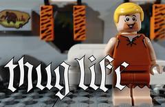 New Brickfilm: https://youtu.be/Acu8pMoR_lg (woodrowvillage) Tags: lego legos minifigure stop motion animation comedy cartoon flintstones thug life meme flinstoned fred barney rubble