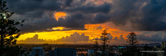 Stormy sunset - Port Macquarie, NSW (Peter.Stokes) Tags: australia australian colour landscape landscapes nature outdoors photo photography sky vacations water trees river native summer panorama