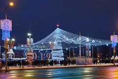 Minsk city (roman.romanenkov) Tags: minsk belarus christmas