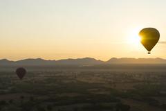 Hot air balloon in Bagan (huzu1959) Tags: bagan hotairballoon myanmar a7ii alpha7ii sonya7ii alphaa7ii sonyalpha7ii sonyalphaa7ii sony