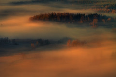 It Will Be a Day Like no Other. (Bonnie And Clyde Creative Images) Tags: landscape poland europe canon mountains autumn light sunrise