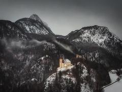 St. Pankraz (der_peste (on/off)) Tags: church drone bavaria badreichenhall stpankraz aerial kirche winter bavarianalps alps berchtesgadenerland berchtesgaden bayern
