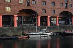 (Sam Tait) Tags: liverpool albert dock docks sail sailing power boat rib
