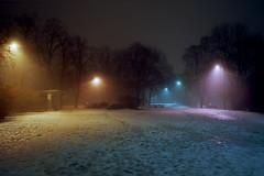 (Benjamin Skanke) Tags: fuji gsw690iii ektar kodak gsw 690iii analog film night fog