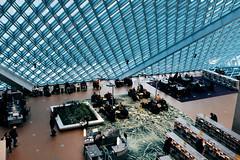 Seattle's most beautiful library (David Chiang Photography) Tags: architecture seattle washington unitedstates blue