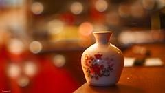 Mini Vase - 6503 (ΨᗩSᗰIᘉᗴ HᗴᘉS +50 000 000 thx) Tags: mini object red orange vase madeinchina bokeh macro belgium europa aaa namuroise look photo friends be yasminehens interest eu fr greatphotographers lanamuroise flickering