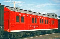 CB&Q Dynamometer 30 (Chuck Zeiler 48Q) Tags: cbq dynamometer 30 burlington railroad denver train alchione chz mow
