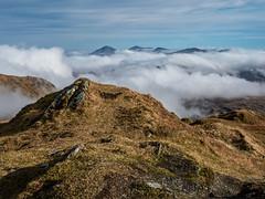 Above the Clouds - Beinn Bhuidhe Feb 2019 (GOR44Photographic@Gmail.com) Tags: beinn beinnbhuidhe munro hills mountains arrocharalps cloud scotland argyll winter gor44 rocks panasonic g9 olympus 1240mmf28 peak peaks