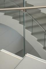 Steps (DJ Axis) Tags: musée québec ville pavillon pierre lassonde aerial aérien spirale vertigineuse en trois paliers staircase curve glass verre descente gardecorps spiral three stages courbé blanc white auditorium palier escalier