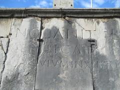 IMG_6477 (Damien Marcellin Tournay) Tags: amphitheatrumromanum antiquité bouchesdurhône arles france amphithéâtre gladiateur gladiators épigraphielatine