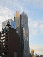 2019 March Morning Light Clouds 3523 (Brechtbug) Tags: 2019 march morning light clouds virtual clock tower from hells kitchen clinton near times square broadway nyc 03112019 new york city midtown manhattan winter spring weather building breezy cloud hell s nemo southern view