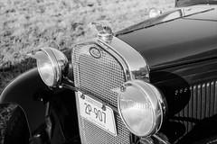 Ford Model A (JBAdams) Tags: 1959nikonf 35mmfilm bw fordmodela fujiacros100 maine nikkors502 plustekopticfilm120 automobile availablelight blackandwhite car film manualfocus wwwjonathanbadamscom 50mmf2s