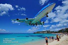 KLM, Boeing, B744, PH-BFH, TNCM, 10APR2016 (rcijntje) Tags: boeing klm b744 b747 maho sint maarten pjia arrival hongkong phbfh