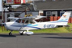 G-UFCI_09 (GH@BHD) Tags: gufci cessna cessna172 skyhawk ulsterflyingclub newtownardsairfield newtownards aircraft aviation