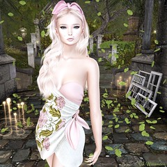 You've Got A Way (Ombrebleue Winsmore) Tags: sissboom dress short casual flowers doux hair long new belleevent formanails nails diamond maitreya meshbody lelutka meshhead glamaffairapplier lumipro