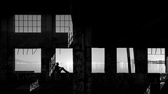 solace (eb78) Tags: ca california blackandwhite bw monochrome greyscale grayscale eastbay ue urbex urbanexploration abandoned decay nightphotography npy longexposure