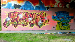 Mssls (oerendhard1) Tags: graffiti streetart urban art rotterdam oerendhard maassluis klaims cosh