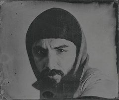 M. (Bertrand Carrot Film Photographer) Tags: wetplate tintype ambrotype chambrephoto 4x5 largeformat collodion glasses plate camera4x5