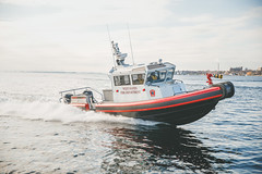 Corpo - Duvetnor-197 (MetalCraft Marine) Tags: interceptor40 westhaven outboards fireboat metalcraftmarine steaming