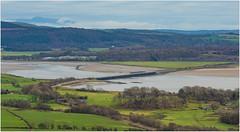 The encore (Blaydon52C) Tags: 37425 leven estuary cumbria cumberland lakedistrict sea grange over sands ulverston hills class37 37409 2737 drs directrailservices northernrail bridge viaduct