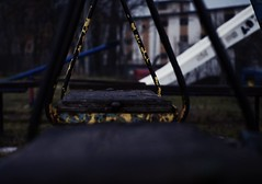 8SC_8951 (viki.dilova) Tags: playground cold rain winter swings