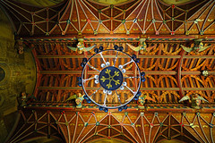 The Banqueting Hall vault, Cardiff Castle, Wales (Andrey Sulitskiy) Tags: wales uk cardiff