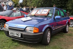 G660 YMD (Nivek.Old.Gold) Tags: 1990 ford escort 13 eclipse 5door