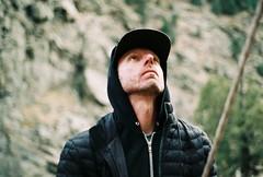 Up (Brogan's Camera) Tags: rock climbing outdoors adventure nature 35mm film analog pentax