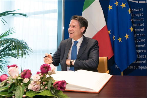 Giuseppe Conte @ the EP by European Parliament, on Flickr