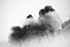 Massiv IV (sleachim) Tags: dolomites alps mountain mountains bnw monochrome longexposure